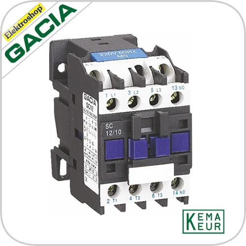 GACIA SC 1208 Magn. 2NO+2NC 230VAC 12A