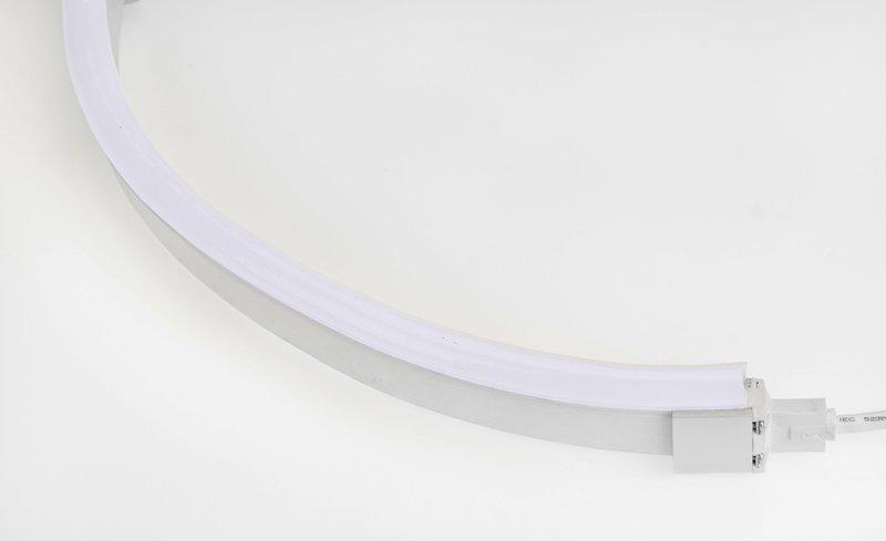 LED Neon Flex Flat Professional wit 24V 5700K 10M met aansluitkabel 110 041