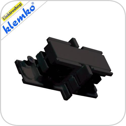 Euro 3 fase rails mini joiner zwart