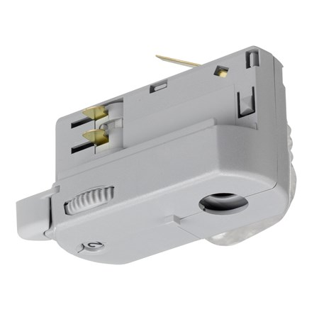 spanningsrail lamp adaptor aluminium 876326 Klemko