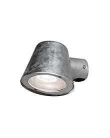 Wandlamp buitenlamp met helder glas gegalvaniseerd GU10 7523 320