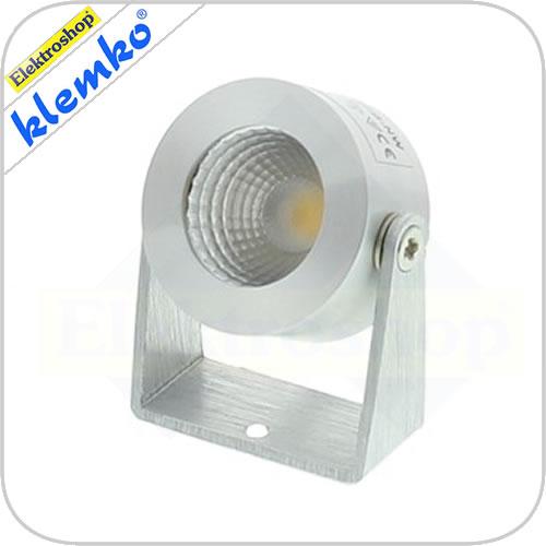 Klemko Faro LED opbouwspot met een COB LED van 3,3W in 2700K