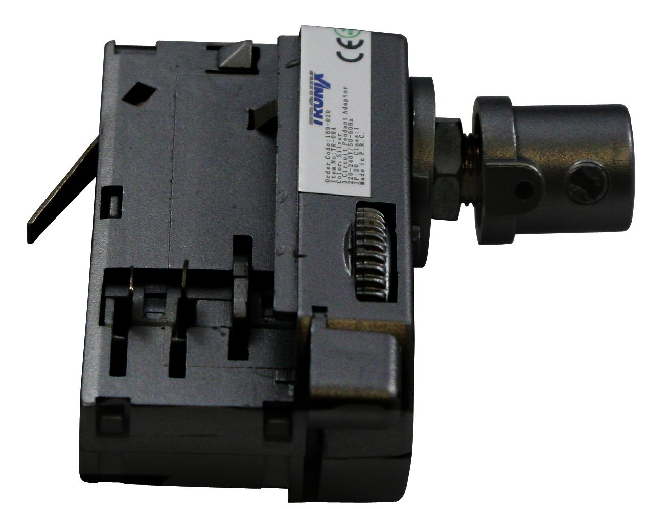 Flexibele Adapter Zwart Spanningsrail | Tronix 169-074