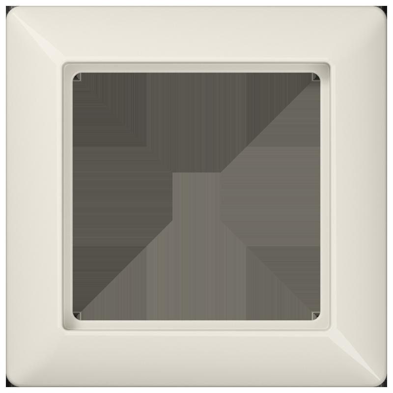 jung as500 afdekraam 1 voudig creme as581. Black Bedroom Furniture Sets. Home Design Ideas