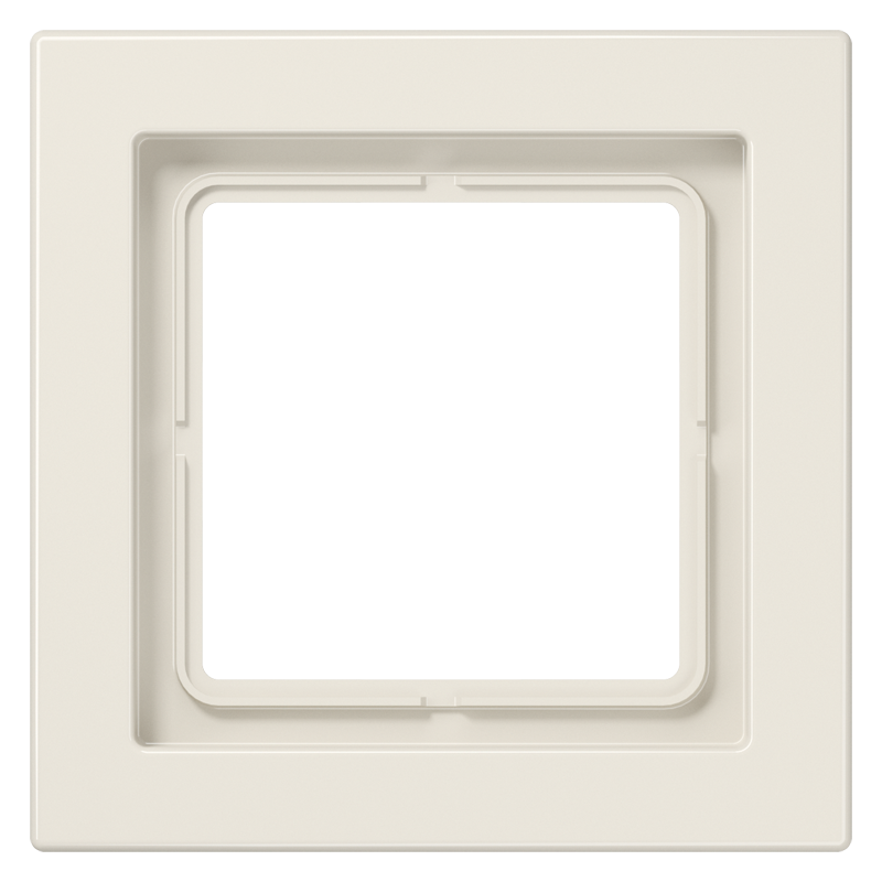 jung ls design afdekraam wit 1 voudig duroplast. Black Bedroom Furniture Sets. Home Design Ideas