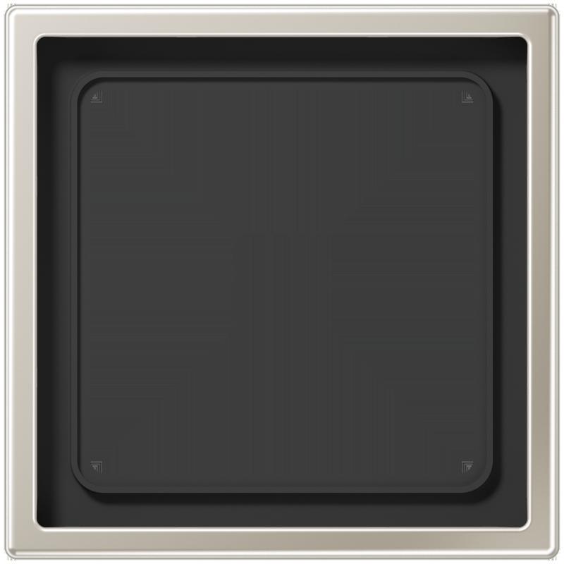 jung ls990 edelstaal afdekraam 1 voudig es2981. Black Bedroom Furniture Sets. Home Design Ideas