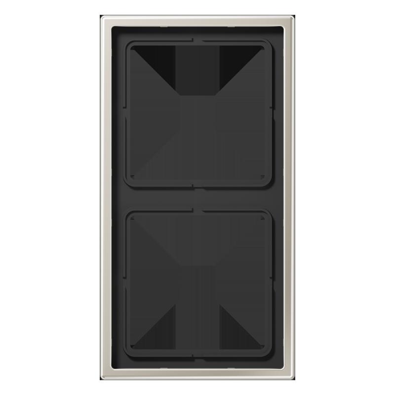 jung ls990 afdekraam 2 voudig es2982. Black Bedroom Furniture Sets. Home Design Ideas