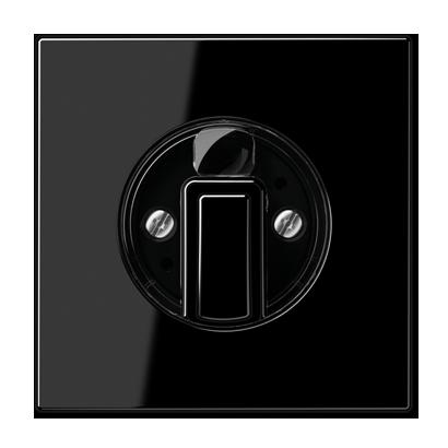 Jung LS990 draaiknop voor dimmer zwart