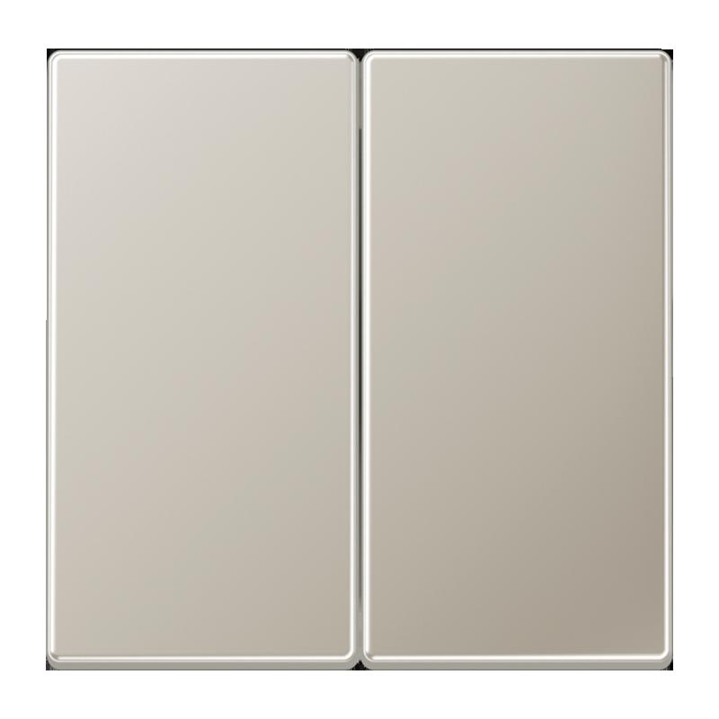 jung ls990 drukknop serie voor serieschakelaar edelstaal. Black Bedroom Furniture Sets. Home Design Ideas