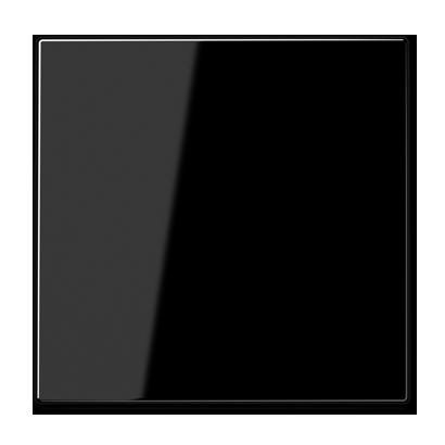Jung LS990 drukknop voor schakelaar zwart