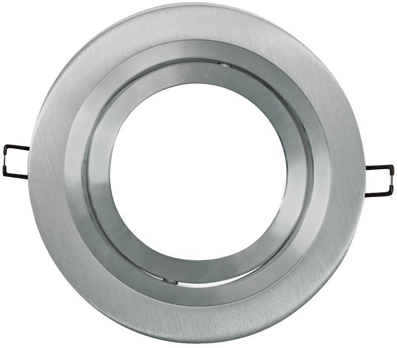 AR111 armatuur 1 voudig rond 180mm aluminium