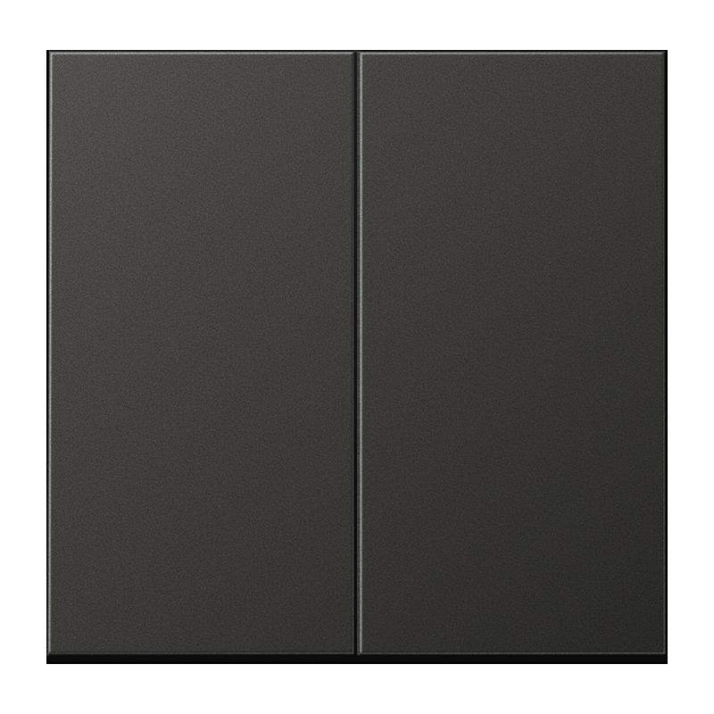 Jung LS990 drukknop serie voor serieschakelaar antraciet