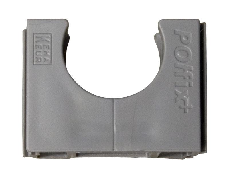 Polfix klembeugel 25mm grijs (1 stuk)