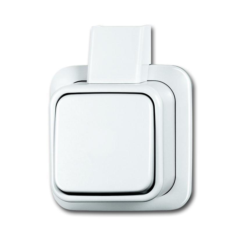 Kruisschakelaar opbouw wit 2601 7 APJW BJ