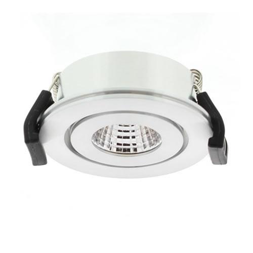 LED inbouwspot Klemko alu Venice 33W COB LED in 3000K 863642