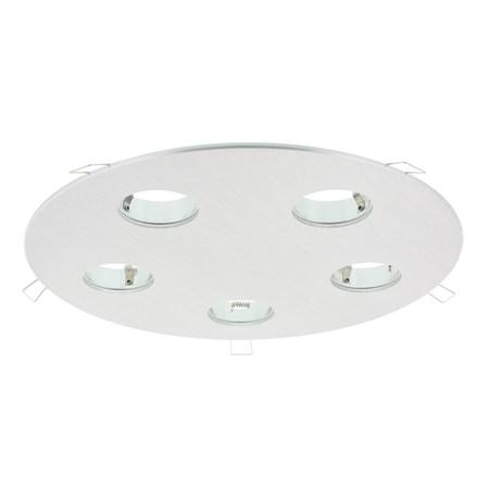 Luzern LED armatuur 5 voudig aluminium 876528