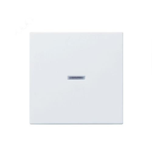 Gira wip met controlevenster standaard 55 zuiverwit glanzend
