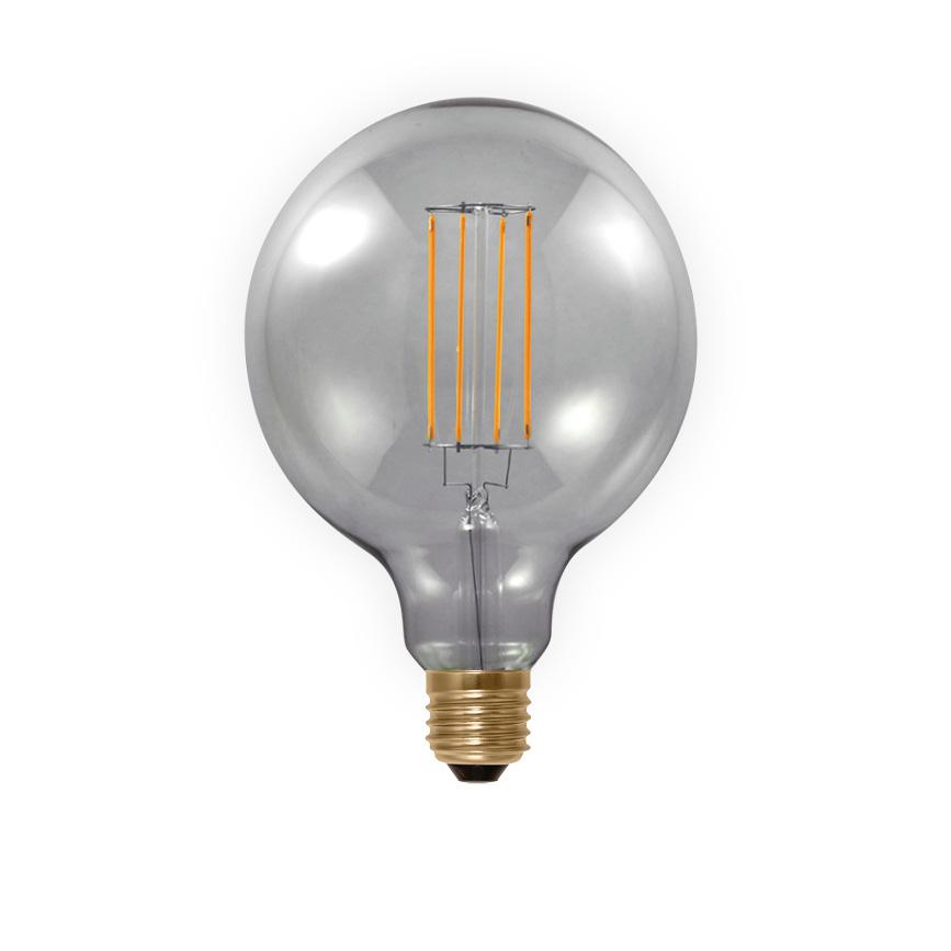 LED globe lamp filament E27 6W 50503 Segula 2000K 250Lm dimbaar grijs