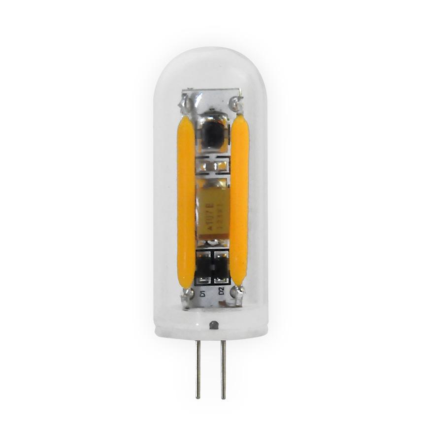 led lamp filament g4 2w 50617 segula 2600k 160lm led g4 pin clear. Black Bedroom Furniture Sets. Home Design Ideas