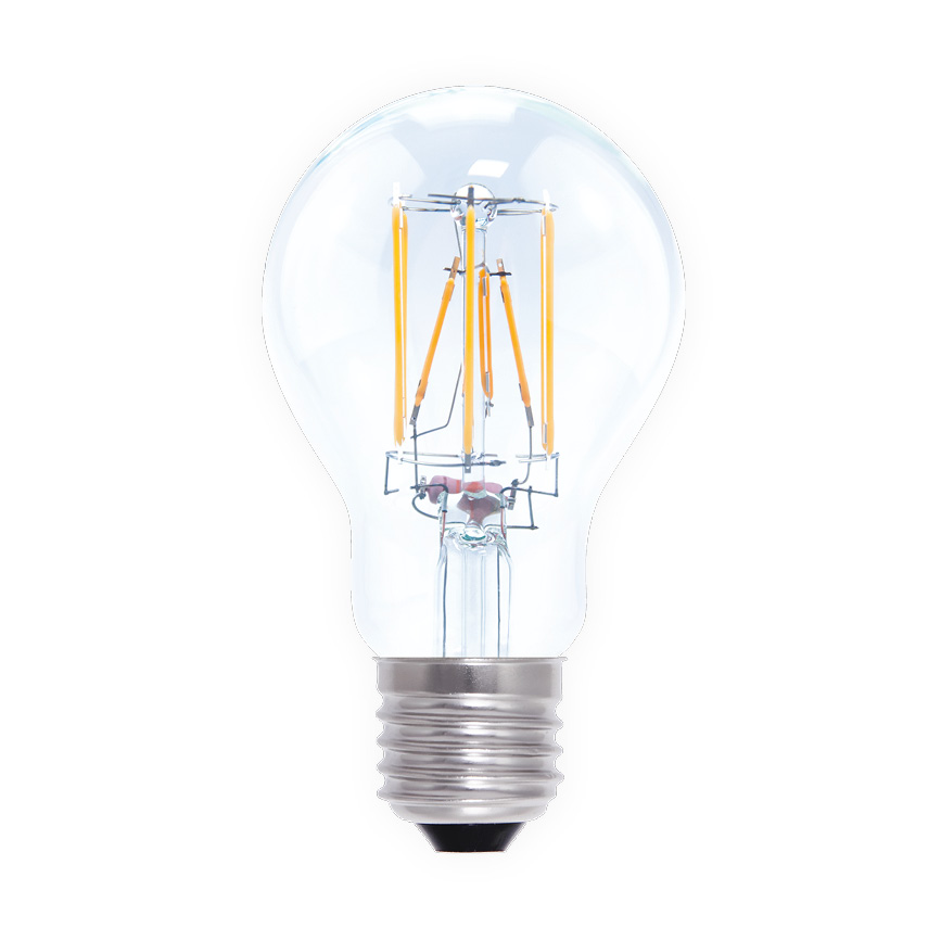 LED lamp 6W E27 filament Segula dimbaar 50246