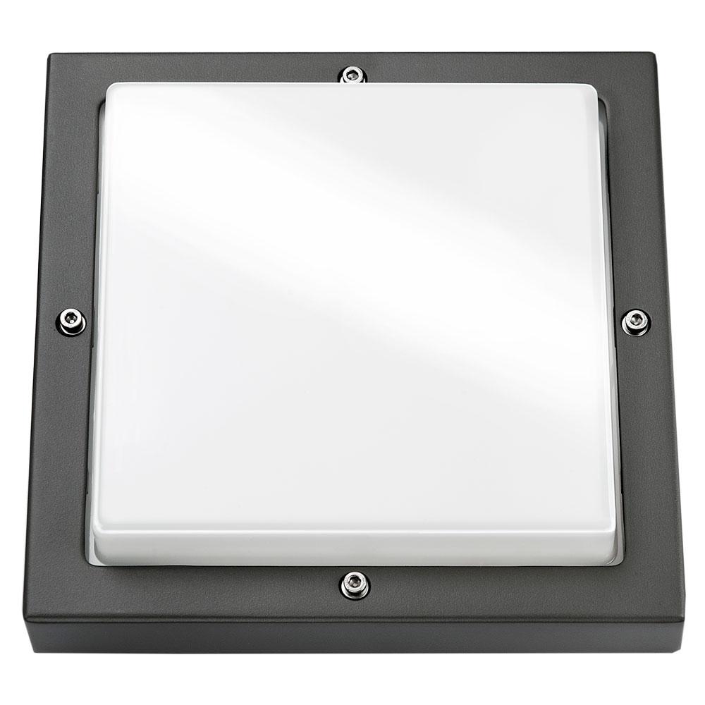 SG Basso LED Wandarmatuur E27 grafiet IP65 IK10 623197