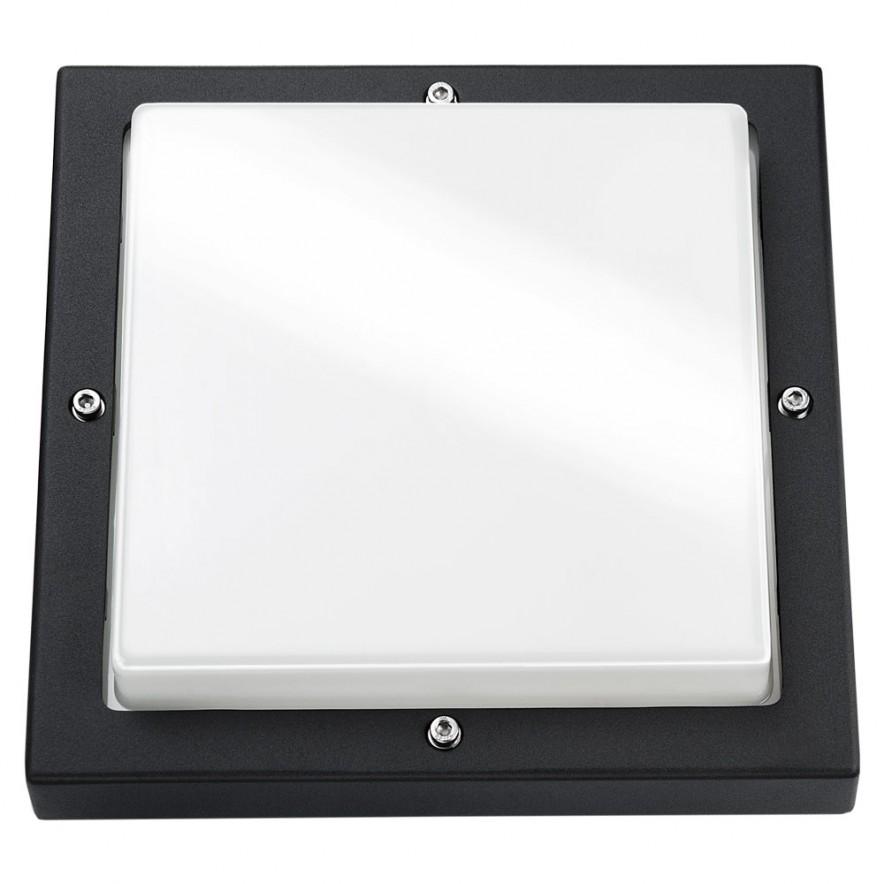 SG lighting LED Bassi 10W 3000K LED zwart vierkant schemerschakelaar 614188
