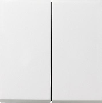 Gira F100 serie wip voor schakelaars en drukcontacten zuiverwit glanzend