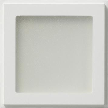 Gira led verlichting wit voor witte afdekramen for Led verlichting voor tennisbanen