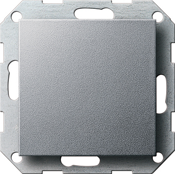 Gira blindplaat aluminium