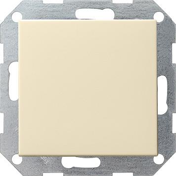 Gira drukvlak kruisschakelaar creme glanzend 012701