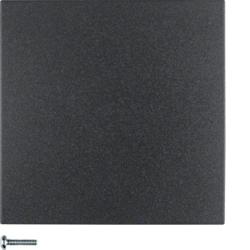 Berker Drukknop 1-voudig s/b zwart 85141185