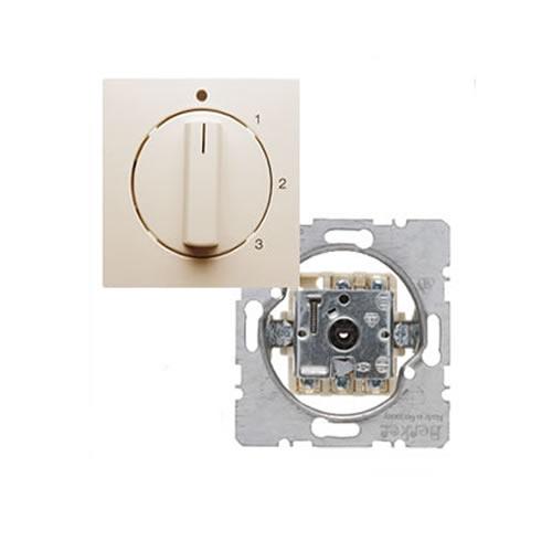 berker s 1 ventilatorschakelaar met draaiknop 0 1 2 3. Black Bedroom Furniture Sets. Home Design Ideas