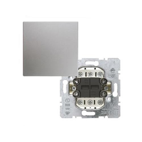 berker b 1 b 3 wissel wisselschakelaar met drukknop aluminium schakelmateriaal. Black Bedroom Furniture Sets. Home Design Ideas