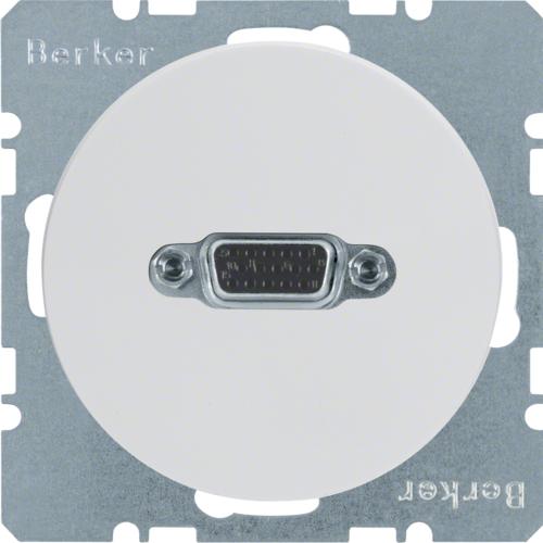 Berker contactdoos VGA patch R1-R3 WT 3315402089