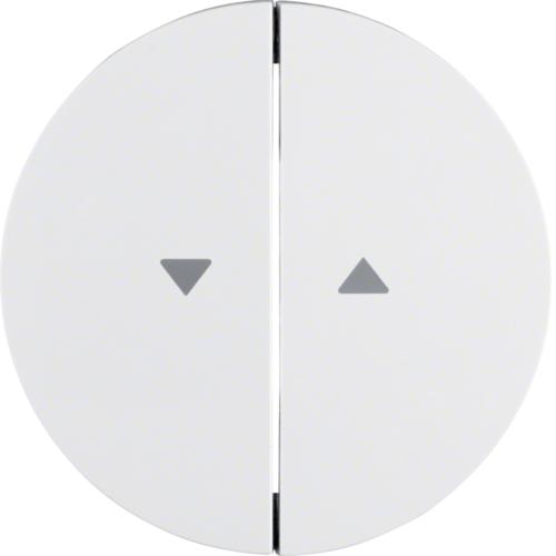 Berker wip met pijlen omhoog omlaag R1-R3 wit 16252089
