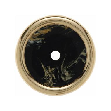 Berker Palazzo afdekraam 1 voudig zwart decor marmer voor schakelaars