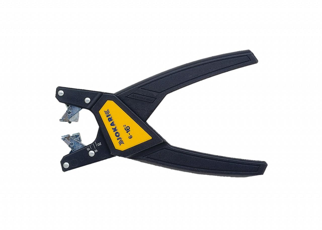 Jokari 6-16 mm Automatische striptang voor zowel enkel als meeraderige kabel