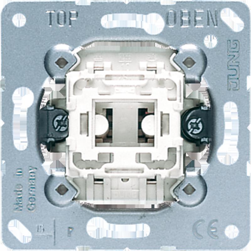 Jung impulsdrukker 1-polig maakcontact