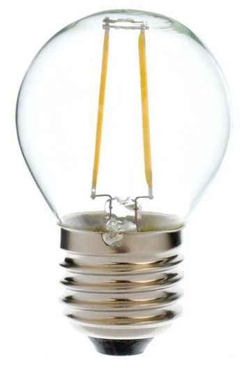 LED Filament lamp E27 P45 28 Watt wit 2700K Tronix 175 787