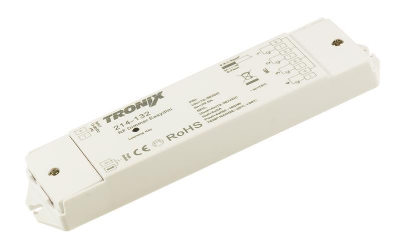 LED dimmer 12 24V draadloos 214-132
