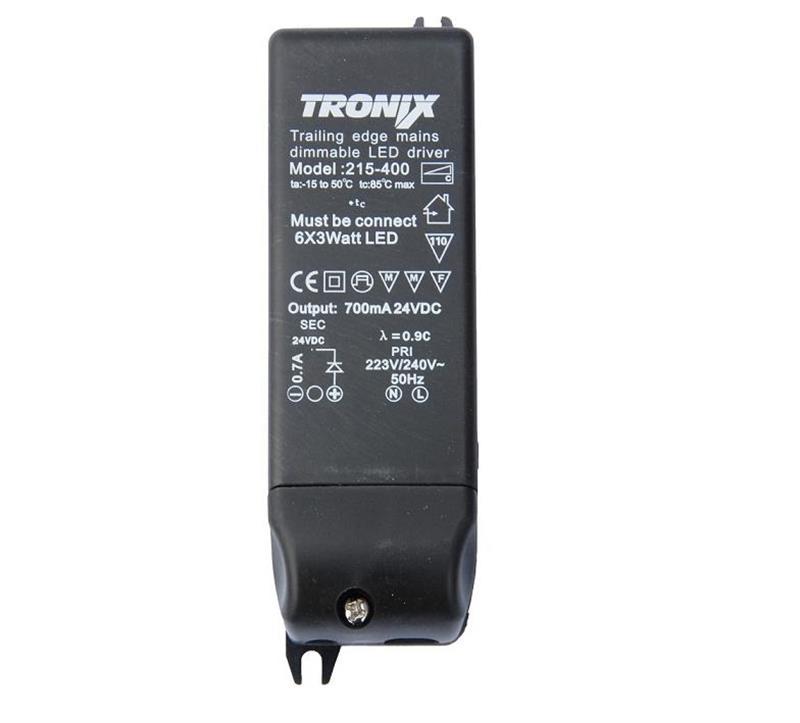 LED voeding 24V 20W 215-400 dimbaar