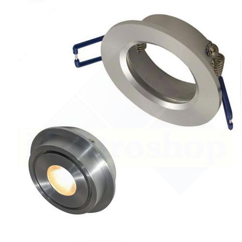 Inbouwspot aluminium voor 50mm lamp148-551