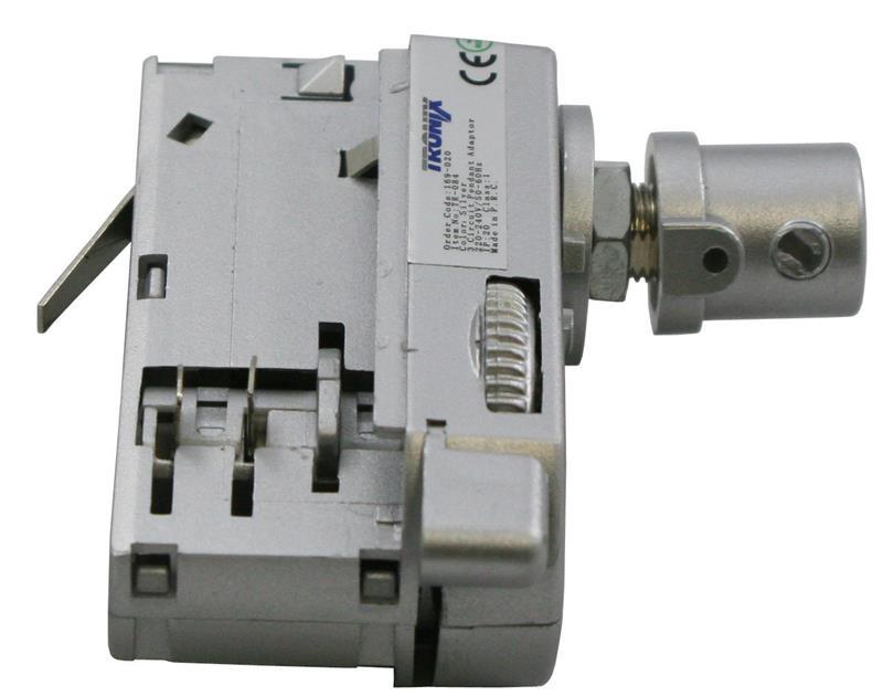 Tronix flexibele adapter spanningsrail aluminium 169-020