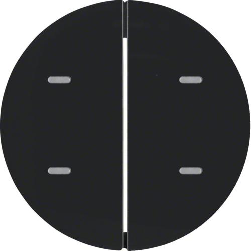 Berker afdekking 2V tbv tastsensor R1-R3 zwart 75162865