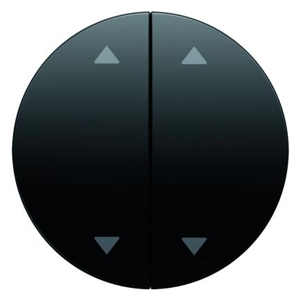 Berker wip met pijlsymbool R1-R3 zwart 16442045