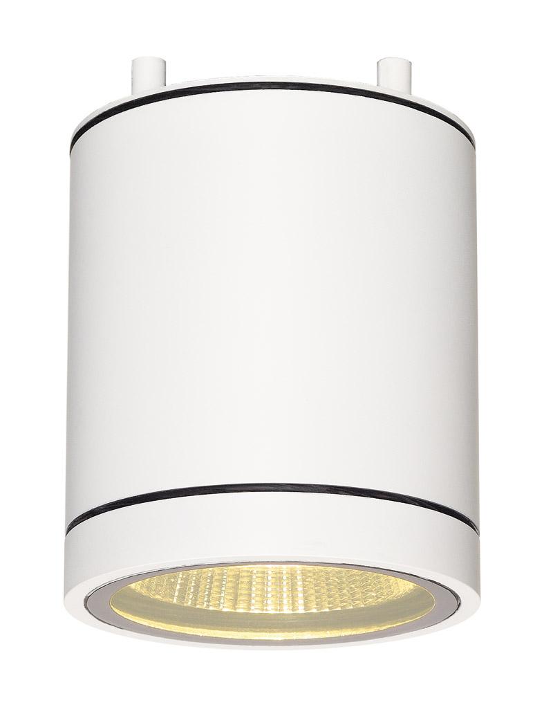 Plafondlamp ENOLA C OUT CL wit 1xLED 3000K