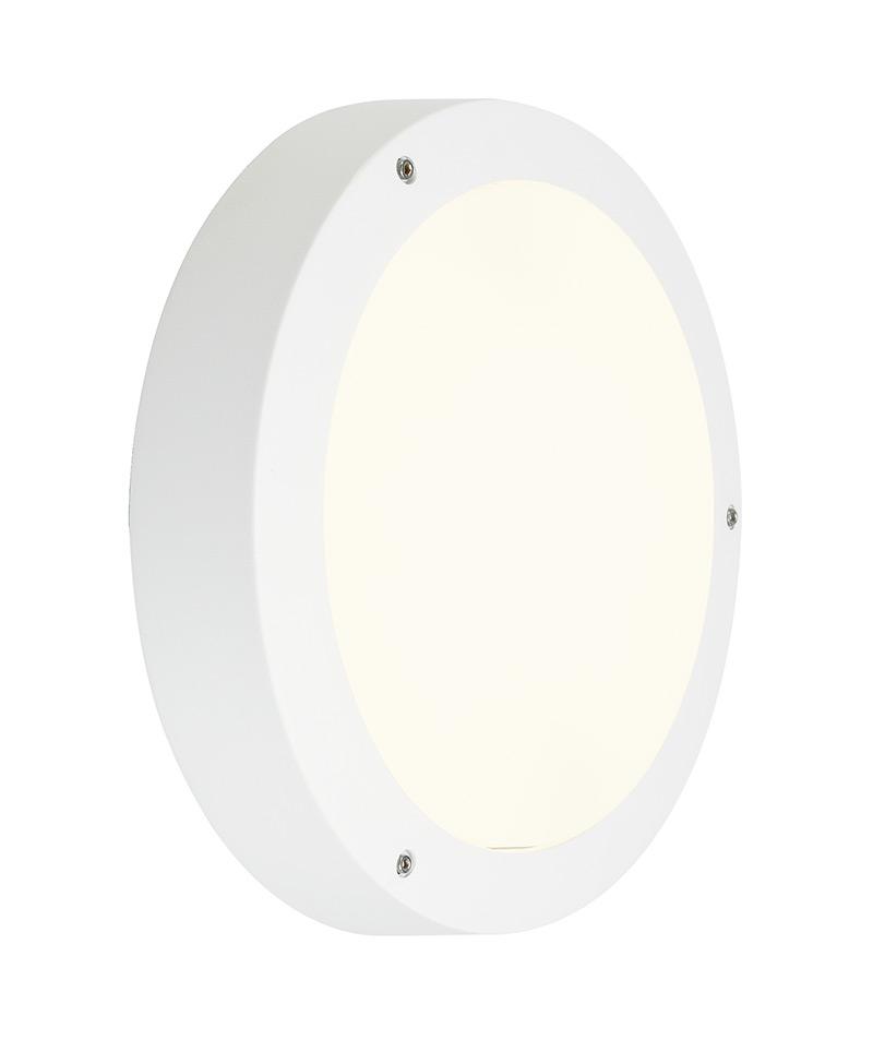Plafond  wandlamp DRAGAN SENSOR wit 2xE27
