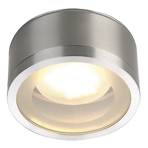 Plafondlamp ROX CEILING GX53 OUT aluminium geborsteld 1xGX53