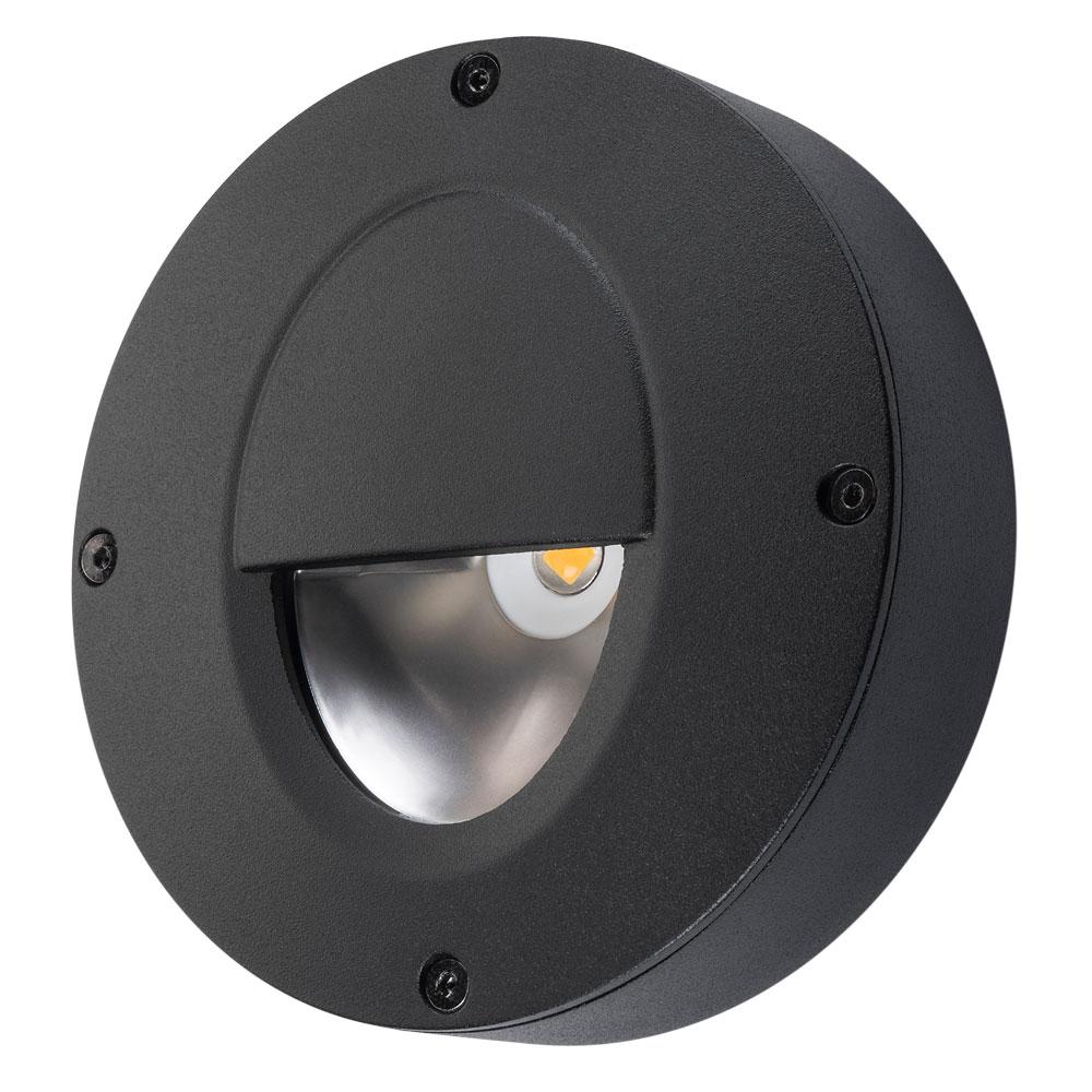SG Callisto Wall LED opbouw zwart 4W 3000K dimbaar IP65 IK06