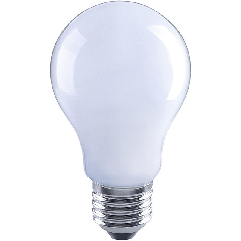 led lamp 6w 770 lumen 2700k e27 peer opaal glas niet dimbaar. Black Bedroom Furniture Sets. Home Design Ideas